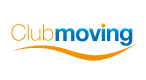 Logo Club Moving, curatenie de intretinere zilnica, club fitness